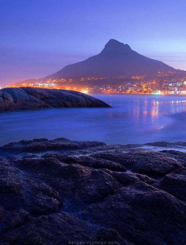 camps bay, cape town, south africa, landscape, nature, ocean, coast, пейзаж, природа, кейптаун, южная африка, побережье, океан Camps Bay Beachphoto preview
