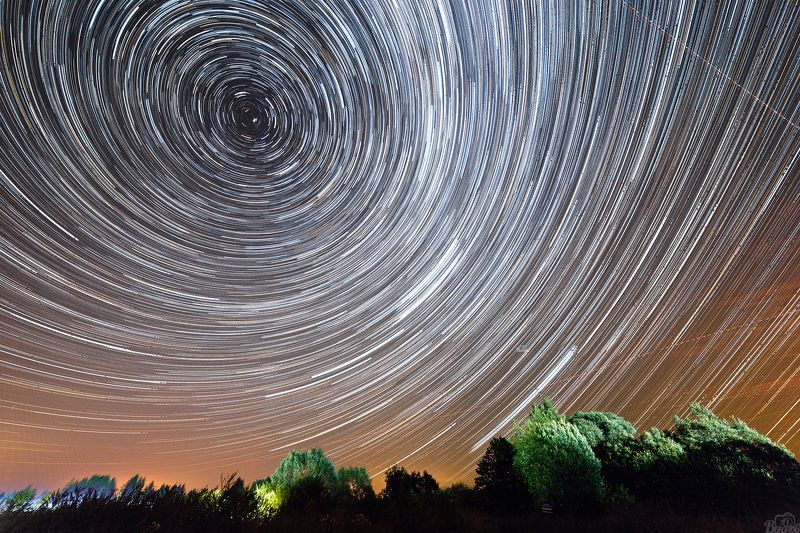дмитров,глинково,подмосковье Звёздное небоphoto preview