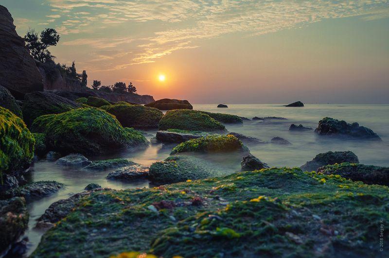 море, одесса, пляж, камни, черное море, фонтанка, odessa, sea, rock, sunrise, рассвет Золотые лучи рассветаphoto preview