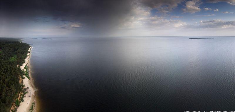 ярославская область Фронт над Рыбинскимphoto preview