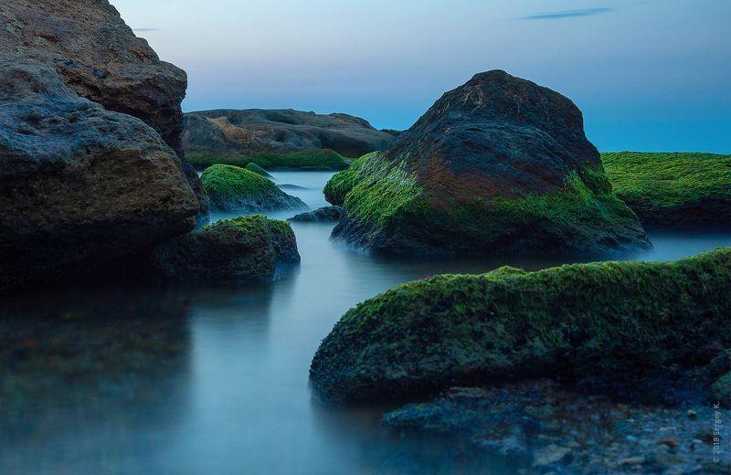 море, одесса, пляж, камни, черное море, фонтанка, odessa, sea, rock, sunrise, рассвет Безмятежный утренний берегphoto preview