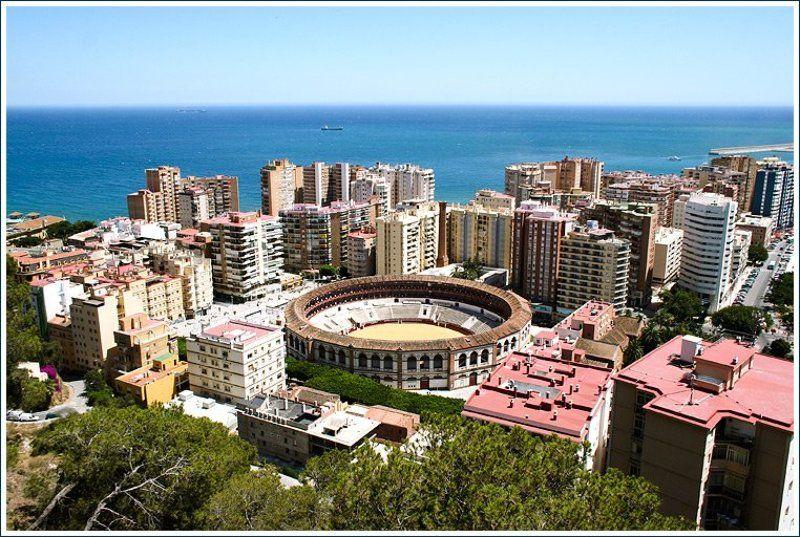 malaga, spain, viuga, город, море, испания, mar Malaga,  дежурный видphoto preview