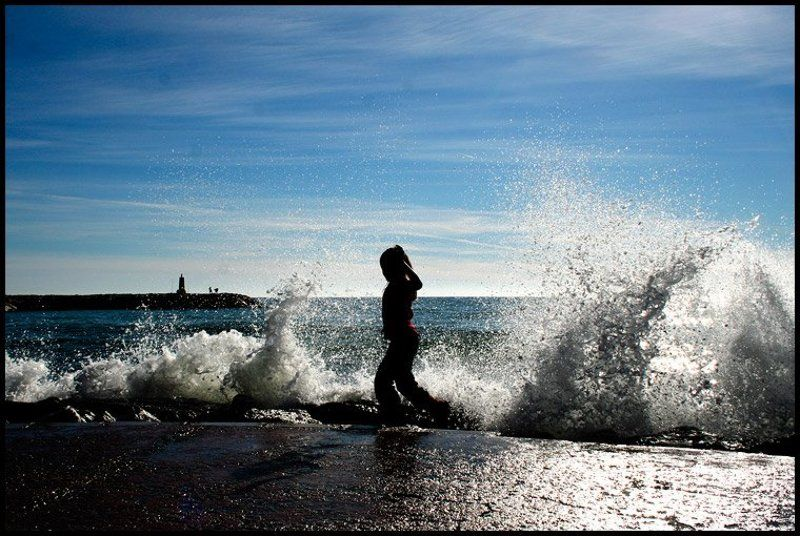 mar, море, испания, spain, viuga, kids волнаphoto preview