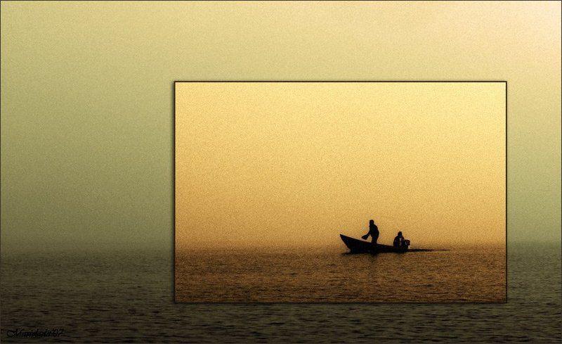 туман, депрессия Туманный минимализм.....photo preview