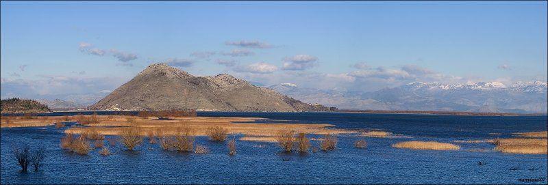 скадарское, озеро, декабрь осенне - зимнее....photo preview