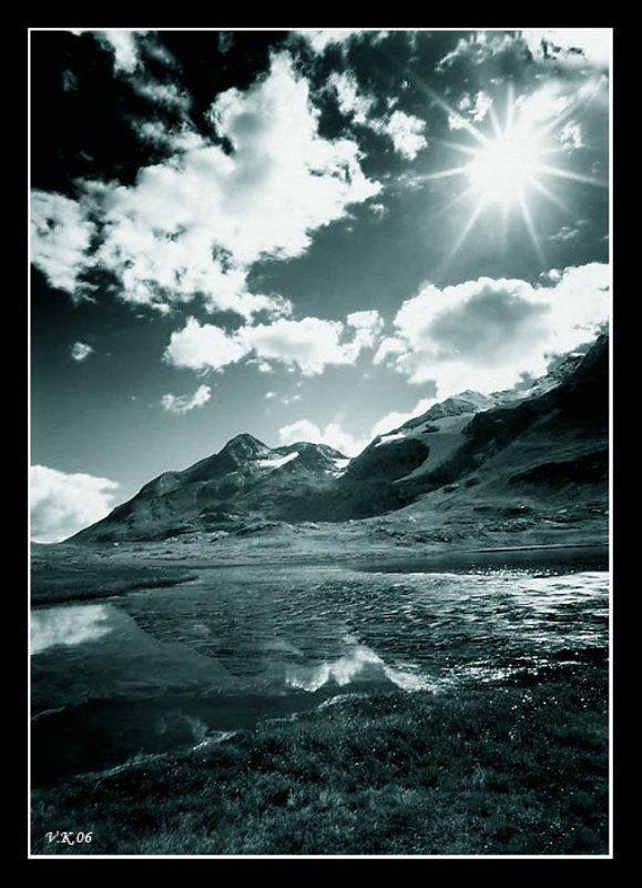 switzerland Белое солнце Берниныphoto preview