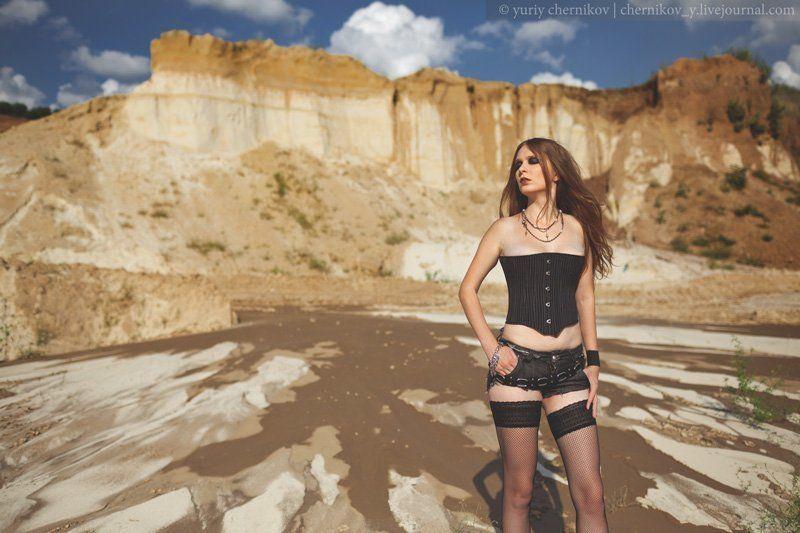 модель, лето, песок, жанр photo preview
