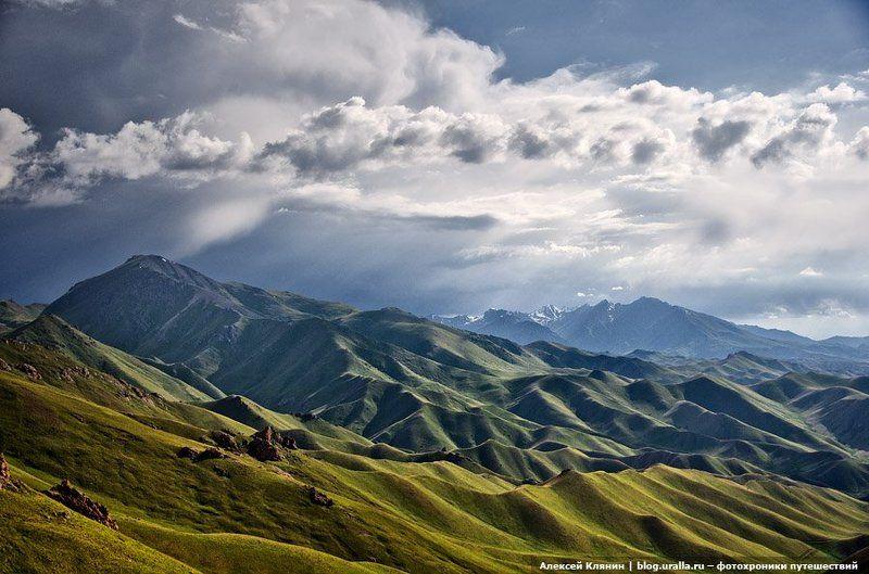 тянь-шань, горы, перевал, чильбель, велоуфа photo preview