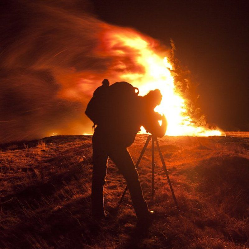 firestorm, fire, storm, thunder, nightshot, photographer, krusev photo preview