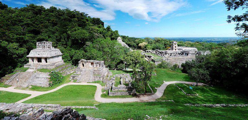 майя, паленке, мексика Территория Майя (Паленке)photo preview