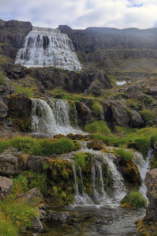 Dynjandi, waterfall, iceland, landscape, travel, водопад, исландия, путешествие, пейзаж Водопадphoto preview