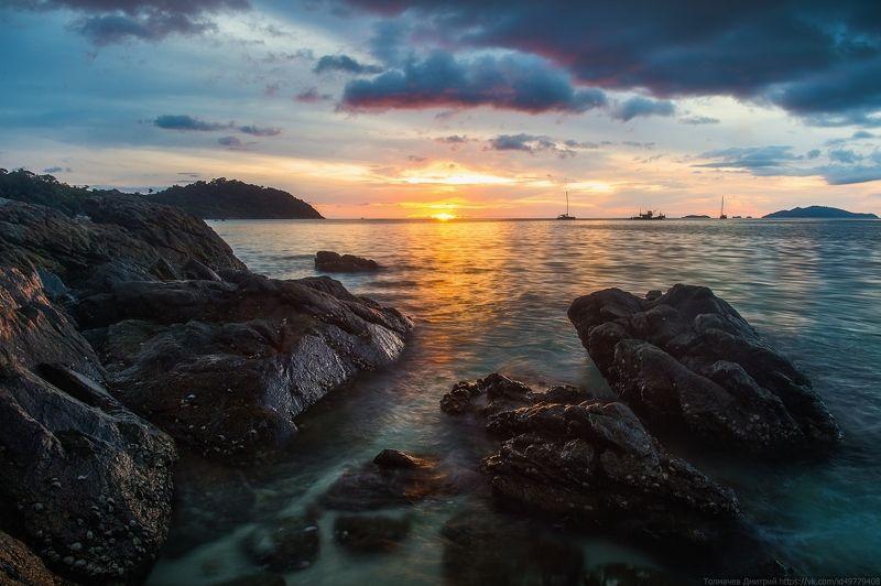 ко липе, тайланд, море, скалы, путешествие ***photo preview