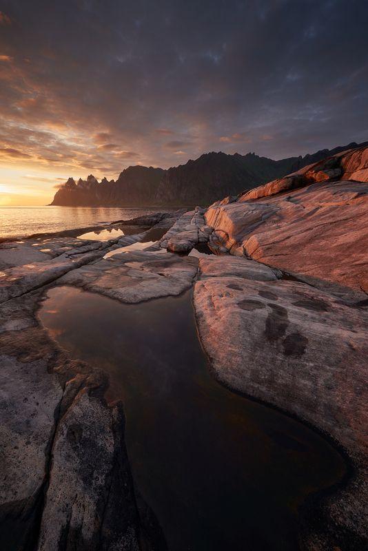 tungeneset, пляж, норвегия, сенья, море, пейзаж, природа, nikon, закат Tungenesetphoto preview