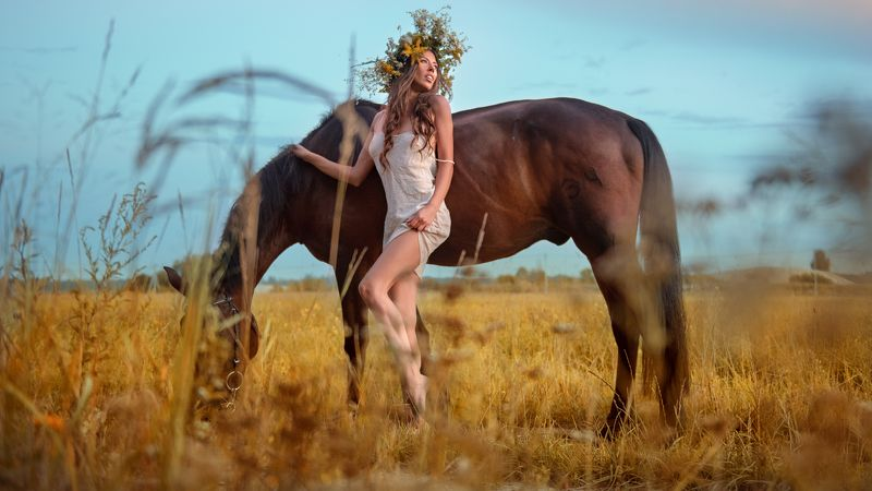 портрет девушка природа Лизаphoto preview