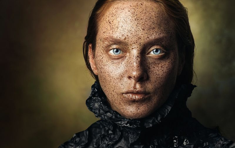 girl, portrait, color, woman, emotions, eyes, face, photo, moscow, people, light Warriorphoto preview