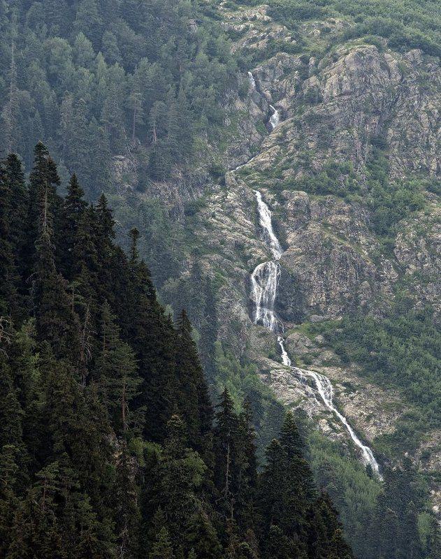 водопад, домбай Водопадphoto preview