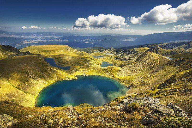rila, mountains, lakes, krusev, bulgaria, nature, summer Seven lakes - Rilaphoto preview