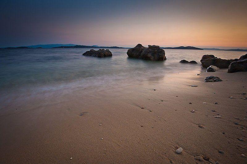 греция ,халкидики,море,закат,лето photo preview