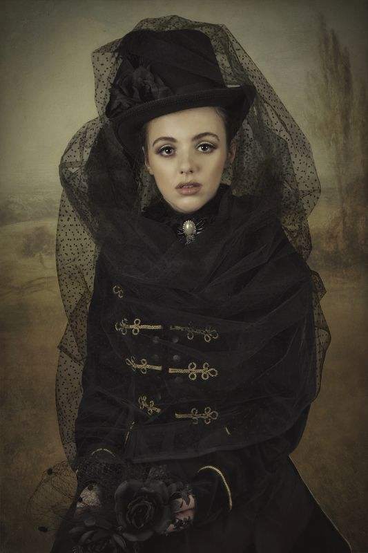 portriat,fine art English Ladyphoto preview