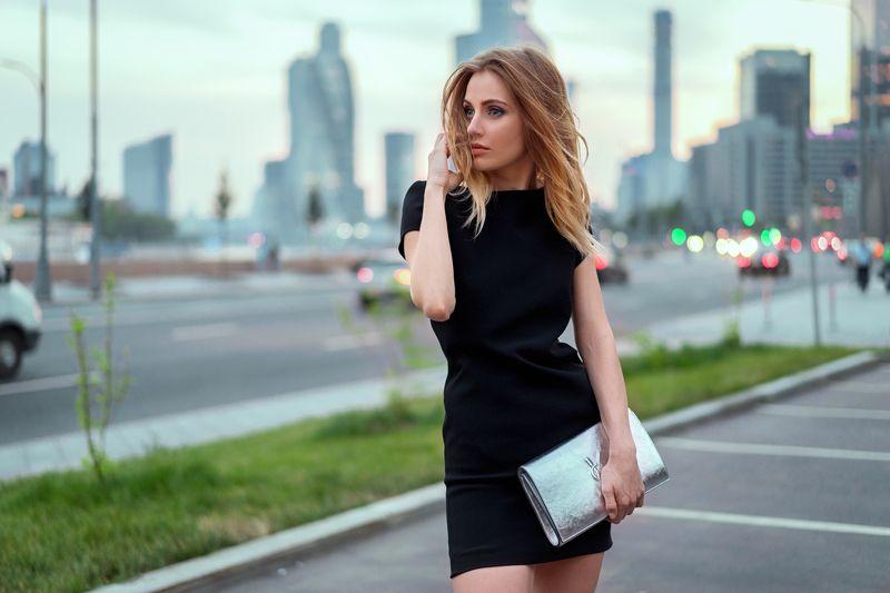 портрет девушка город photo preview