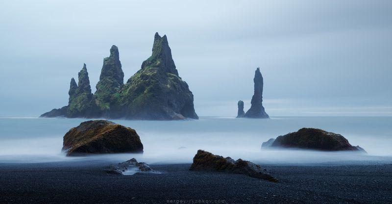 Reynisdrangar, Iceland, landscape, nature, sea, исландия, пейзаж, природа, Reynisdrangarphoto preview