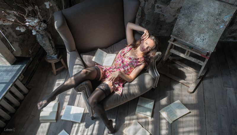 девушка, портрет, art, woman Дарьяphoto preview