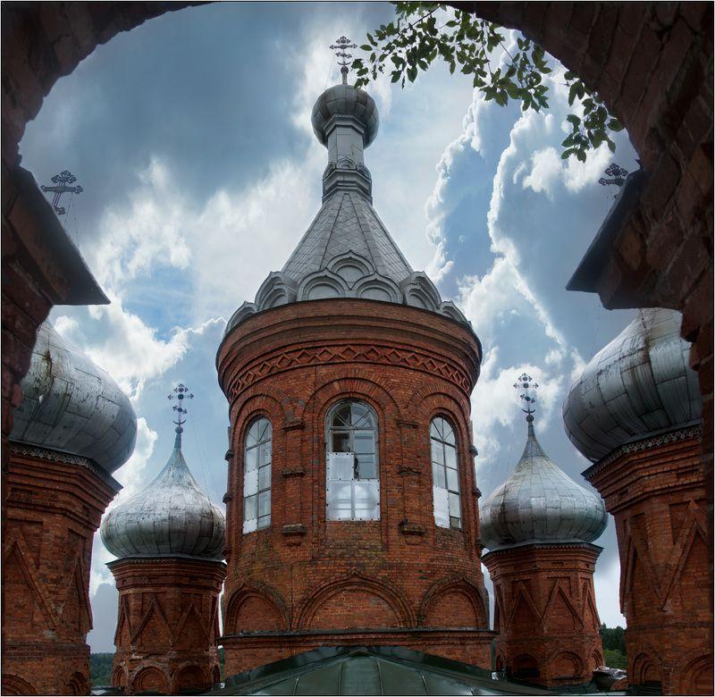 храм волга исток собор ольгинский монастырь Куполаphoto preview