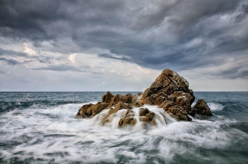 море камни шторм San pol de marphoto preview