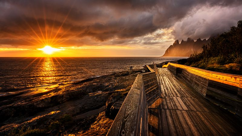 Tungeneset, Senja, Norwayphoto preview