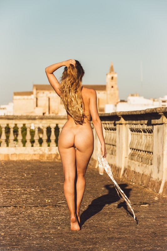 nudephotography, nudemodel, nude, naked, undressed, girl, gorgeous, photography, model, sexy, sensual, natural, pure, purestmagazine, backside, summer, evening, sunset, Mallorca Eros Dancephoto preview