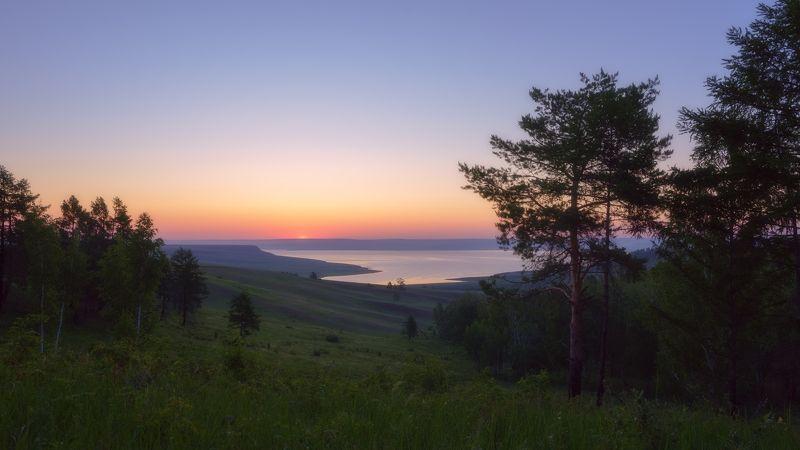 сибирь,ангара,восход солнца, утро летнего дня,siberia, angara, sunrise, morning of the summer day Предвкушение...photo preview