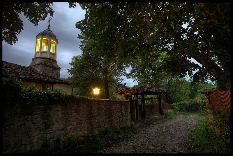 Evening at Bojenci villagephoto preview