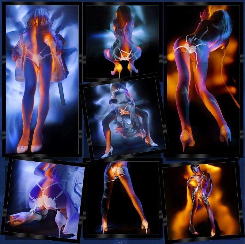 светографика, свет, портрет, akt, nude, ню, обнаженная_натура, гламур Akt... Молоко и Лимон...photo preview
