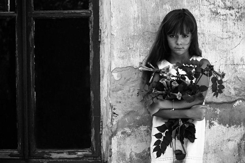 руснак софия, ребенок, девочка, цветы photo preview