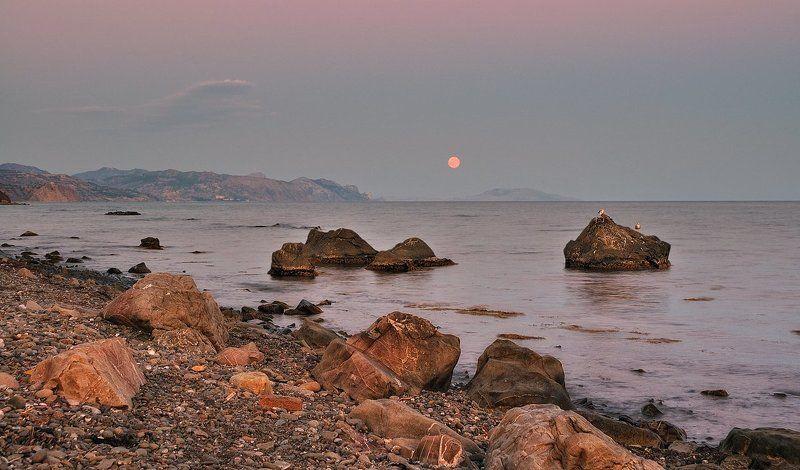 Лунный расссвет.photo preview