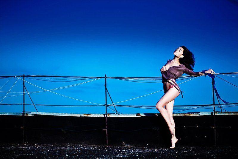 фото, портрет, крыша, девушка, гламур, фотосессия, портфолио Кристинаphoto preview