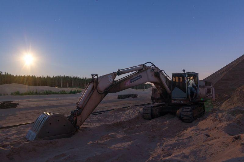 ночь россия звезды star луна карьер Когда все спятphoto preview