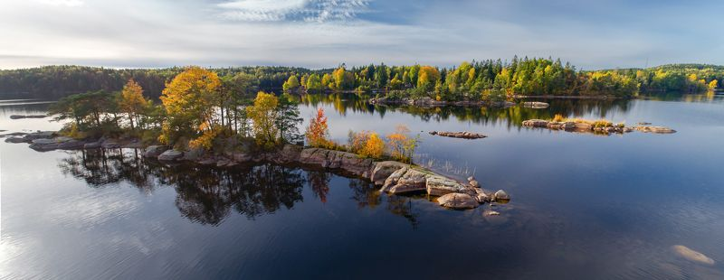 Lerum lakes from abovephoto preview