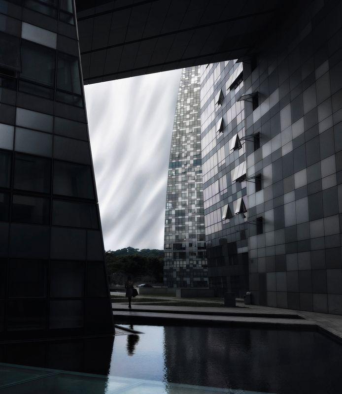 город, стрит, сингапур, азия, путешествия, монохром Рамкиphoto preview