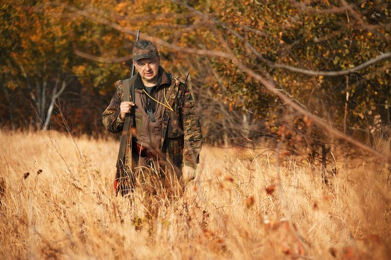охота, оружие, человек, природа, поле, лес Охота на охоту...photo preview
