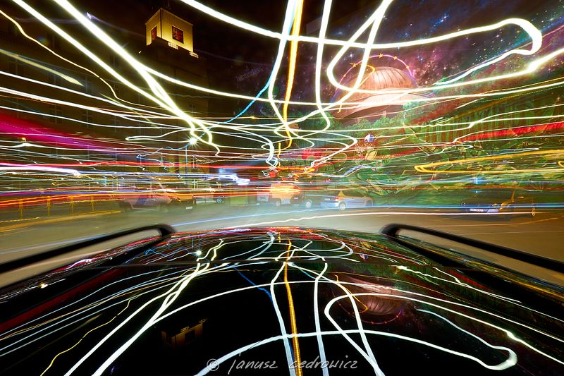 drive,light,lights,lines,tangled,speed,street,city,night,road,car,mirror,colors,colorful,buildings,architecture,citycenter,joyride tangled lightsphoto preview