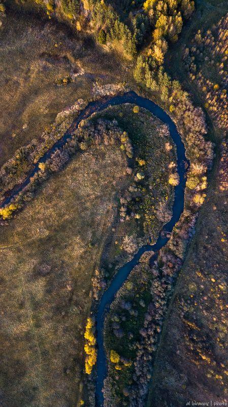 ярославская область, касть, осень Осень на малой реке с точки зрения птицыphoto preview