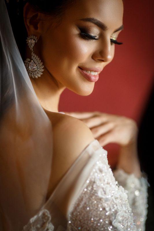 невеста, макияж, свадьба, модель, девушка, серьги, портрет В стиле Востокаphoto preview