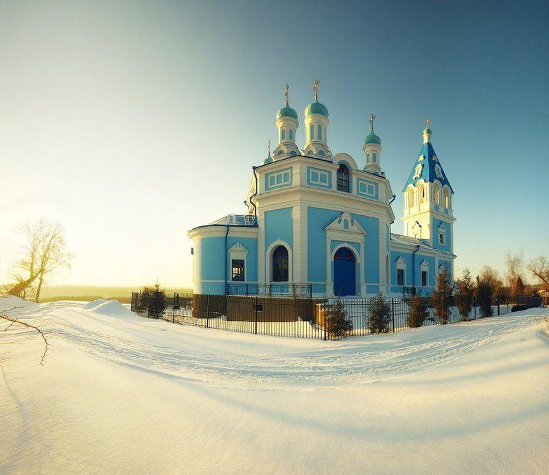церковь, кочеток Церковь Иконы Божьей Материphoto preview