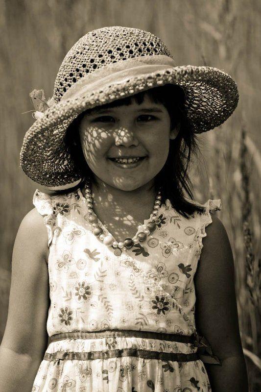 дети, портрет, лето, детство, девочка Один счастливый деньphoto preview