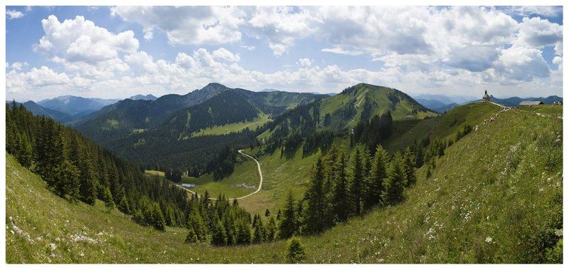 германия, пейзаж, бавария, альпы, тегернзее, роттах-эгерн Роттах-Эгерн (Вид на Альпы)photo preview