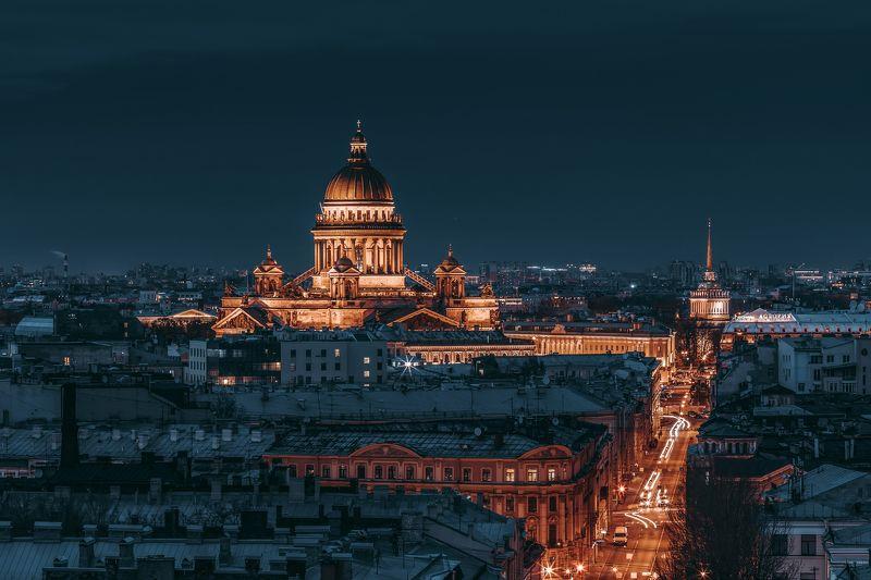 #осень #пейзаж #город #улица #autumn #city Панорама Санкт-Петербургаphoto preview