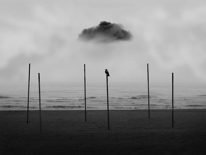 #conceptual #black&white #fineart #art #35photo Dark cloudphoto preview