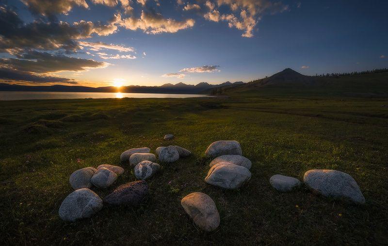 монголия, хубсугул Время собирать камни…photo preview