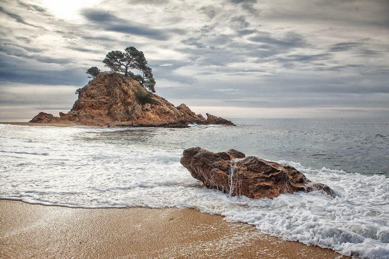 берег солнце испания Platja De Arophoto preview